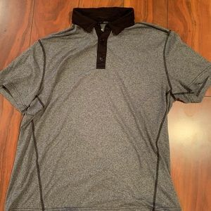 dd84f53e Michael Strahan · Gray Polo with Black outline